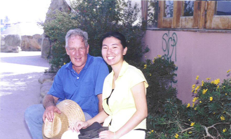 From China with Love for James Hubbell on his birthday