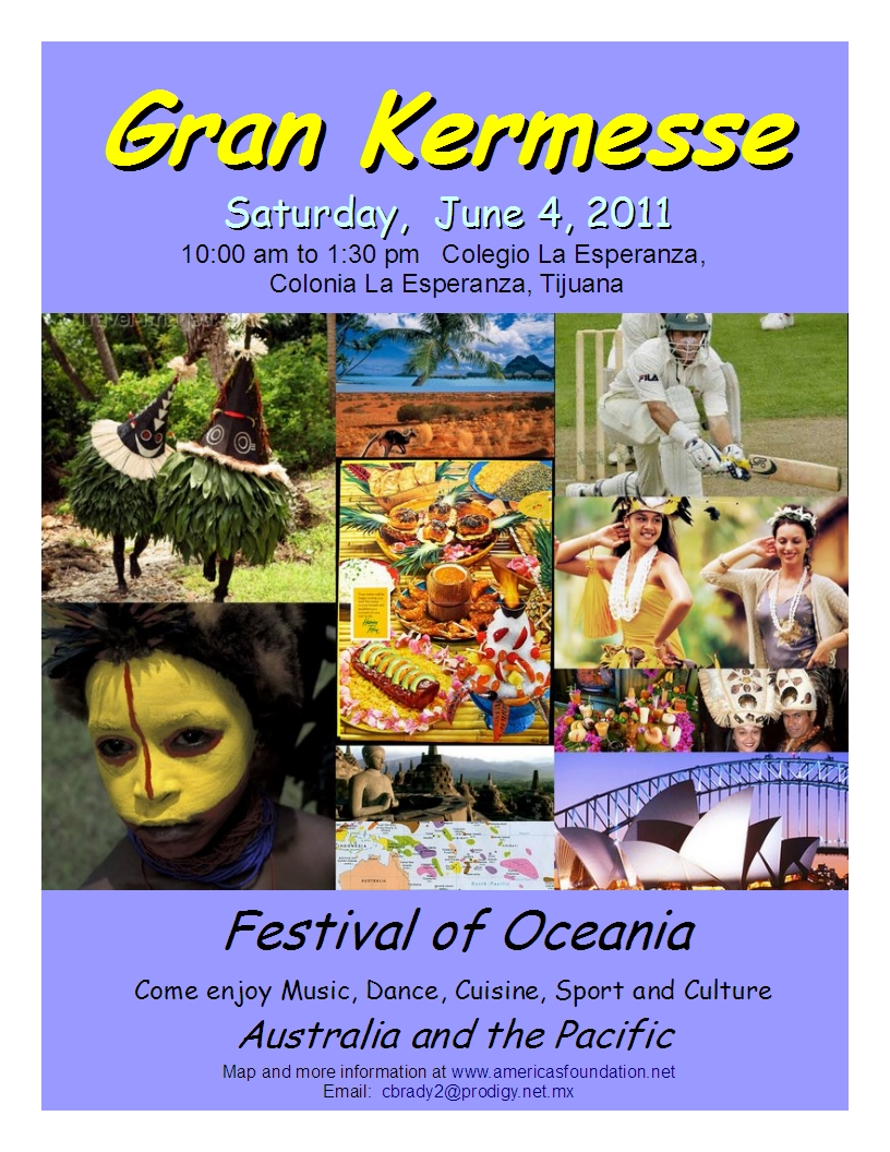 Flyer to Festival of Oceania